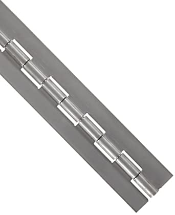 Stainless Steel 316 Continuous Hinge Without Holes, Unfinished
