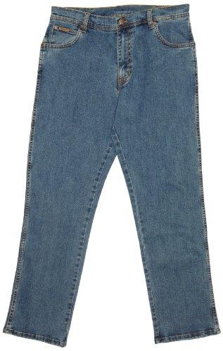 Wrangler Herren Jeans, Texas Stretch, GR. W35/L32 (Herstellergröße: W35/L32), Blau ( STONEWASH )