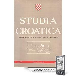 Studia Croatica - números 22-23 - 1966 (Spanish Edition)