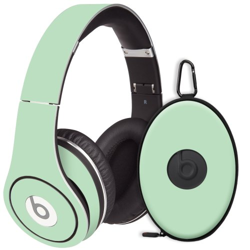 Spring Green Decal Skin For Beats Studio Headphones & Carrying Case By Dr. Dre