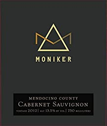2012 Moniker Estates Mendocino County Cabernet Sauvignon 750 ml Wine