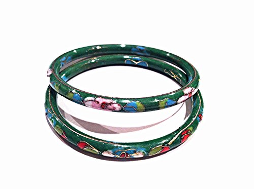 Cloisonne Bangle Bracelets