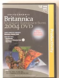 Encyclopaedia Britannica: Ultimate Reference Suite 2004 DVD