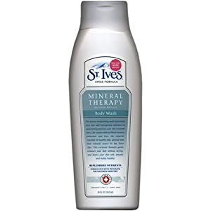 D A Morris Dentist St Ives St. Ives Body Wash, Mineral Therapy 18 fl oz (532 ml) [Misc.]: Amazon ...