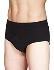 3 Pack Classic Pure Cotton Assorted Briefs
