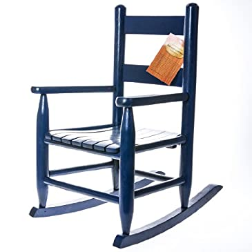 Blue Toddler Rocking Chair