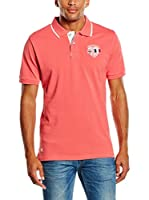 PAUL STRAGAS Polo (Coral)