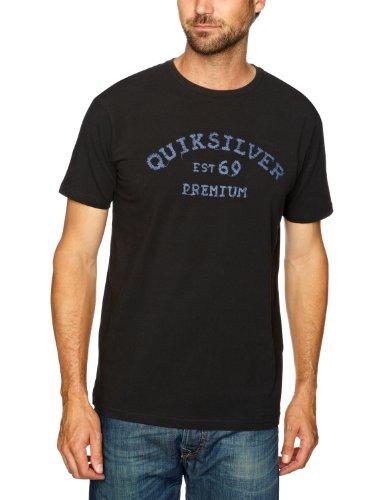 Quiksilver Ss Premium Tee-KPMJE923C Printed Men's T-Shirt Black Medium