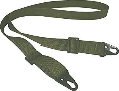 "Fire Force 2 Point 1¼"" wide Military Gun Sling with HK style Hook Rifle / Shotgun Sling Made in USA"
