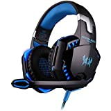 Kotton Each G2000 Gaming Headset Earphone 3.5mm Jack With Led Backlit And Mic Stereo Bass Noise Cancelling For...