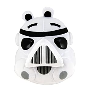 Angry Birds Star Wars 5 Plush - Storm Trooper from Angry Birds