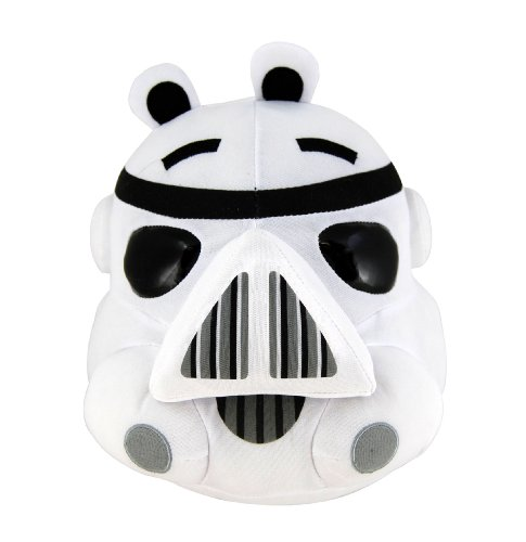 "Angry Birds 8"" Star Wars Plush - Storm Trooper - 20cm Stofftier - aus USA"