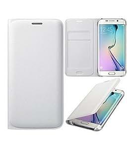 CLASSICO Premium Faux Leather Wallet Flip Case Cover FOR Oppo Neo 5 (White)