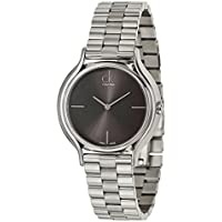 Calvin Klein K2U23141 Skirt Women's Quartz Watch (Black/Silver)