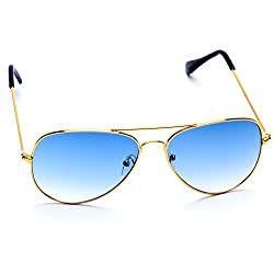 Optis Aviator Sunglasses (Golden) (SRSXC3L2)