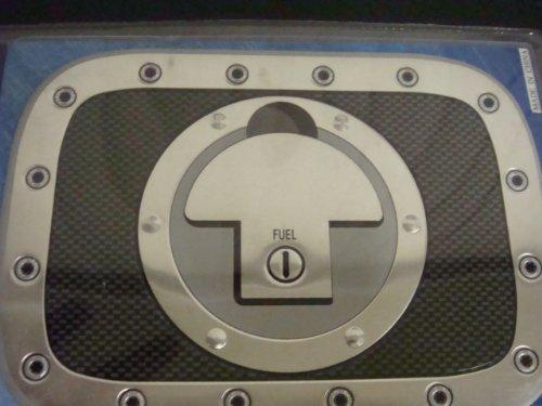 Carbon Fiber Gas Tank Racing Decal New! Universal