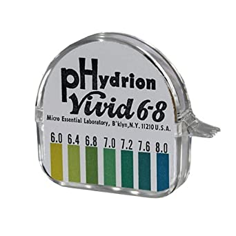 Micro Essential Lab Hydrion pH Test Paper Dispenser, Single Roll