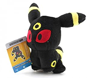 """Pokémon Pokemon Center 6"""" Plush Poke Doll: Umbreon Black, Free"""
