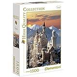 Clementoni - Puzzle de 1500 piezas, High Quality, diseño Neuschwanstein (319251)
