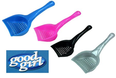 (Good Girl) Litter Scoop Assorted Colours [46923]
