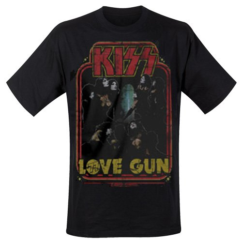 Kiss - T-Shirt Love Gun (in L)