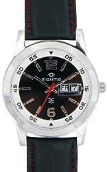 Maxima Attivo Analog Black Dial Mens Watch - 21001LMGI