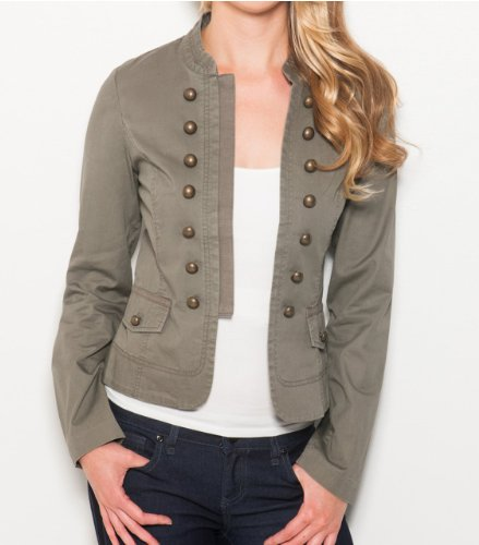 G by GUESS Graylie Military Jacket