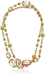 Azaara Cherry Quartz Necklace