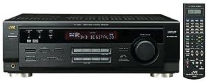 JVC RX-7020VBK Dolby Digital II/DTS Audio/VideoReceiver (Black)