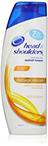 Head & Shoulders Damage Rescue Pyrithione Zinc Dandruff Shampoo, 14.2-Ounce Bottle (packaging may vary)