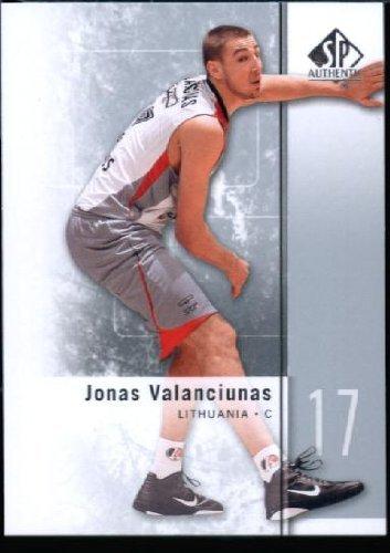 Sale alerts for  2011/12 Upper Deck SP Authentic Basketball ROOKIE Card #39 Jonas Valanciunas - Covvet