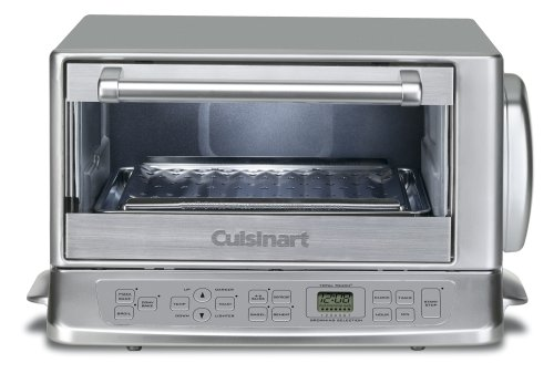 Cuisinart TOB-195 Exact Heat Toaster Oven Broiler, Stainless (Toaster Oven Convection Broiler compare prices)