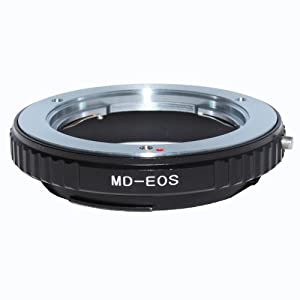 ForUsing Lens Mount Adapter - Minolta MD Lens to Canon EOS Camera, for Canon EOS Cameras A502006