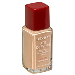 Revlon Age Defying Makeup with Botafirm, SPF 15, Dry Skin, Nude Beige 04, 1.25 Ounce