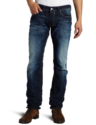 Brand New Diesel Safado 888R Mens Jeans, 0888R, Blue Eyecons Collection, Regular Slim Fit Straight Leg (29 x 32)