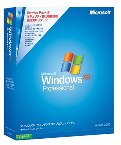 Microsoft Windows XP Professional Service Pack 2 �̾���