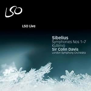 Sibelius: Symphonies Nos. 1-7; Kullervo [LSO/Colin Davis]