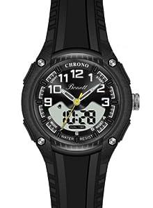 Bonett Jungen - Armbanduhr Analog & Digital Chronograph Kautschuk 1280S