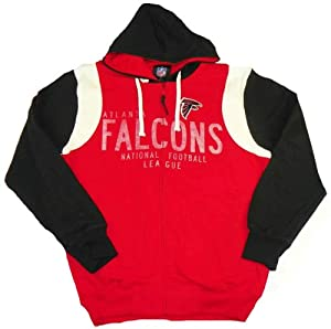 Atlanta Falcons Coverage Full Zip Hoodie by G-III Sports