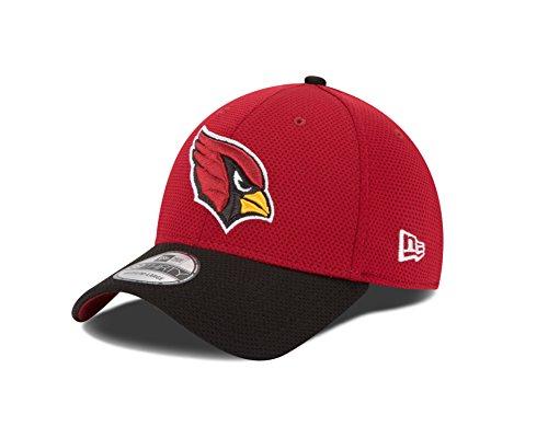 NFL Arizona Cardinals 2015 Team Color Training Camp 39Thirty Stretch Fit Cap, Small/Medium, Red