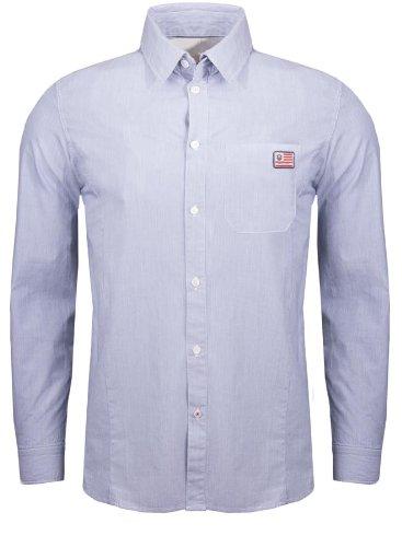 Freeman T, Porter camicia da uomo Calter Stripe King