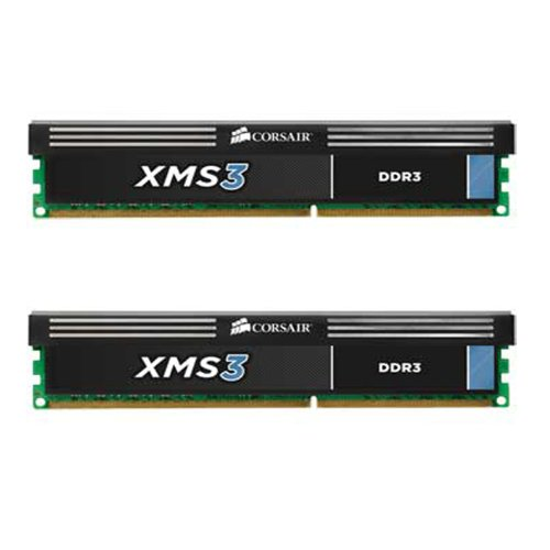 Corsair CMX8GX3M2A1600C9 XMS3 8GB (2x4GB) DDR3 1600 Mhz CL9 Performance Desktop Memory Kit Black Friday & Cyber Monday 2014