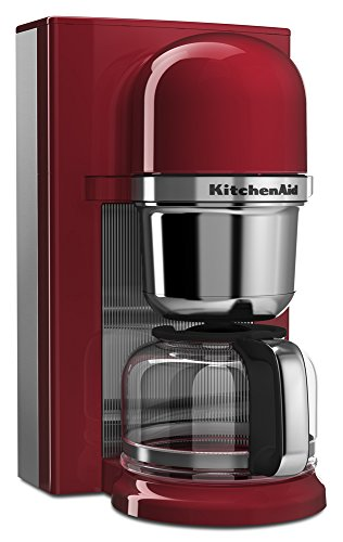 Kitchenaid Programmable Coffee Maker Manual : KitchenAid KCM0802ER Pour Over Coffee Brewer, Empire Red Home Garden Dining Appliances Makers ...