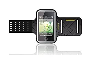 Belkin Lillian Dual-Fit Armband Case for iPod touch 2G, 3G (Black)