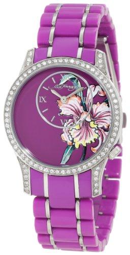 Ed Hardy Women's JA-PU Jasmine Purple Watch