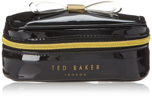 Ted Baker Sanny Cosmetic Case,Black,One Size