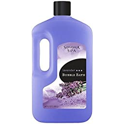 Sonoma Spa Lavender Bubble Bath, 64 Fl Oz