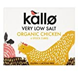 Kallo Organic Low Salt Chicken Stock Cube 51g (PACK OF 3)