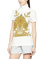 Love Moschino Camiseta Manga Corta (Blanco / Amarillo)
