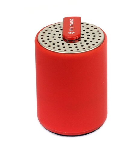 Susen Mini Portable Bluetooth Speaker For Cell Phone Mp3/Mp4- Red